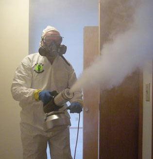 thermal fogging for smoke odor removal